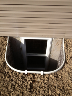for basement waterproofing for egress window installation in york pa