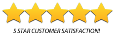 Cottrell Basement Waterproofing Five Star Rating